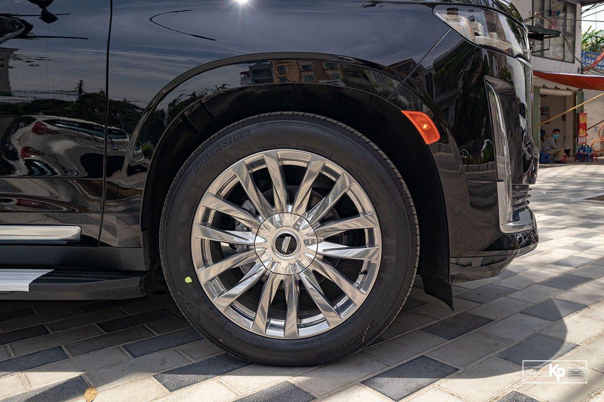 Ngắm Cadillac Escalade ESV 2021 bản máy to và nội thất nhiều điểm mới so với xe đã về Việt Nam trước đó  a12