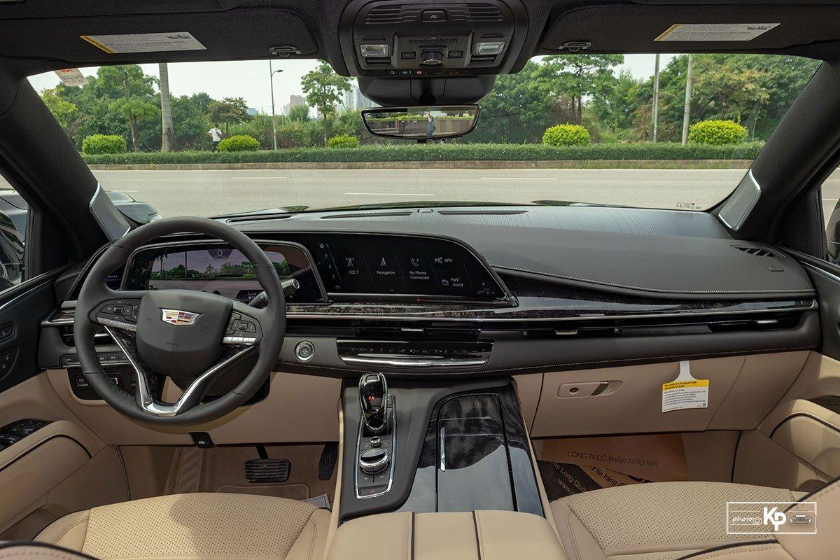 Ngắm Cadillac Escalade ESV 2021 bản máy to và nội thất nhiều điểm mới so với xe đã về Việt Nam trước đó  a2