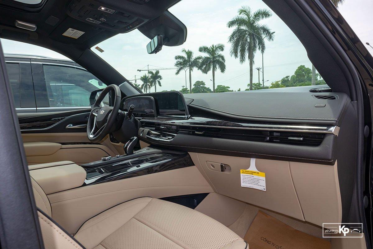Ngắm Cadillac Escalade ESV 2021 bản máy to và nội thất nhiều điểm mới so với xe đã về Việt Nam trước đó  a17