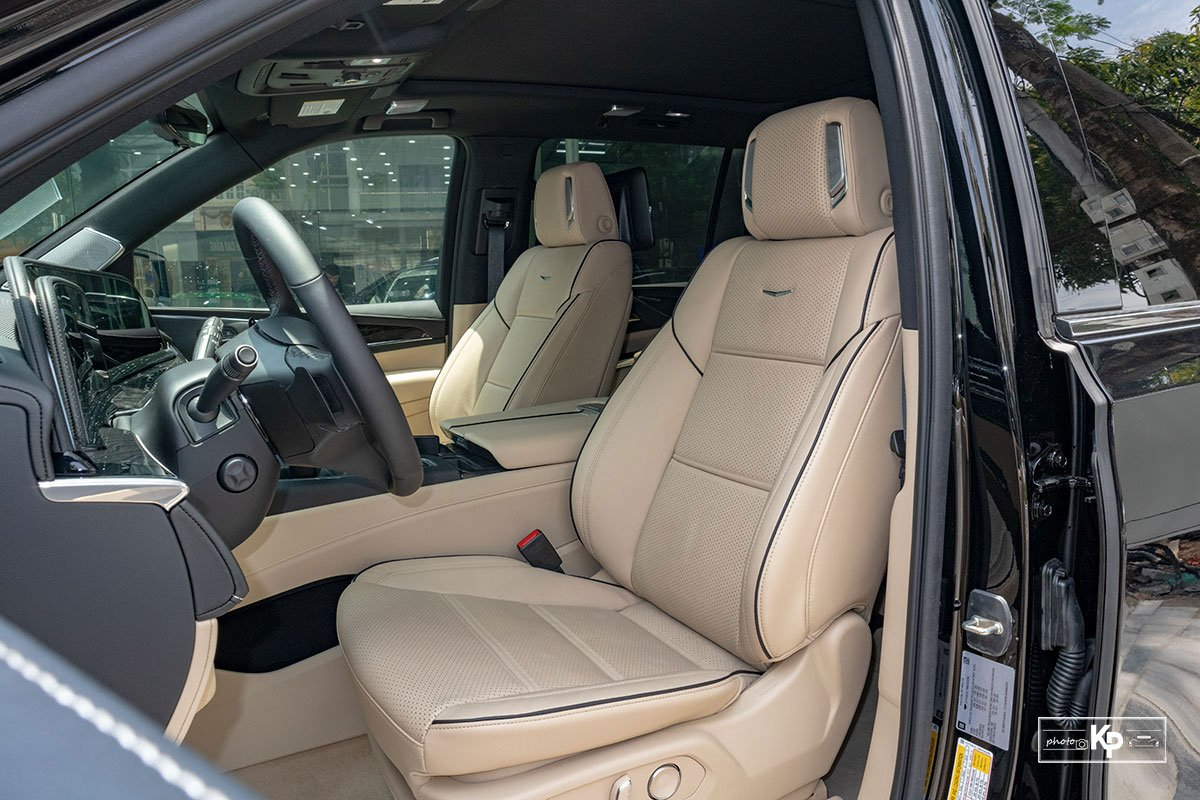 Ngắm Cadillac Escalade ESV 2021 bản máy to và nội thất nhiều điểm mới so với xe đã về Việt Nam trước đó  a412