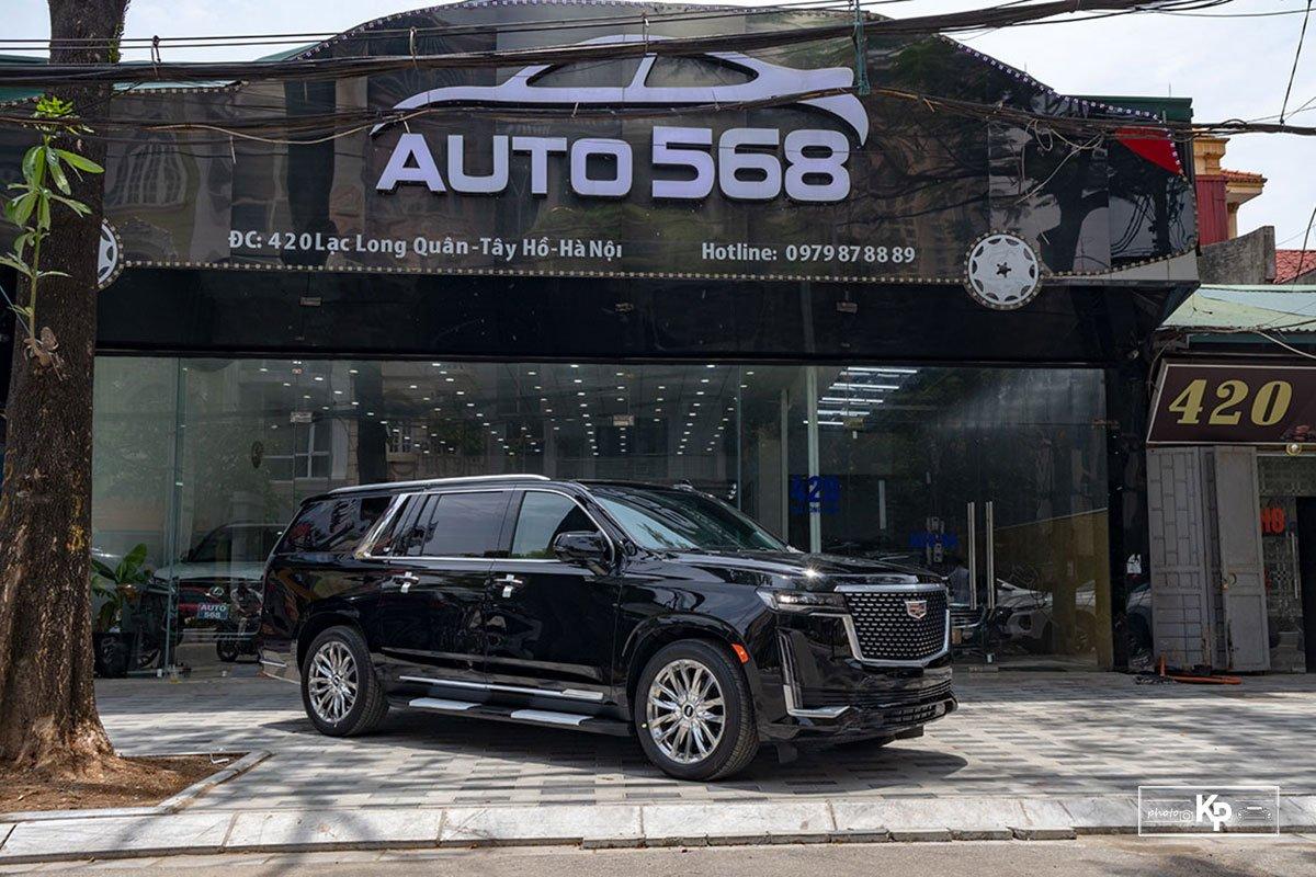 Ngắm Cadillac Escalade ESV 2021 bản máy to và nội thất nhiều điểm mới so với xe đã về Việt Nam trước đó  a48y