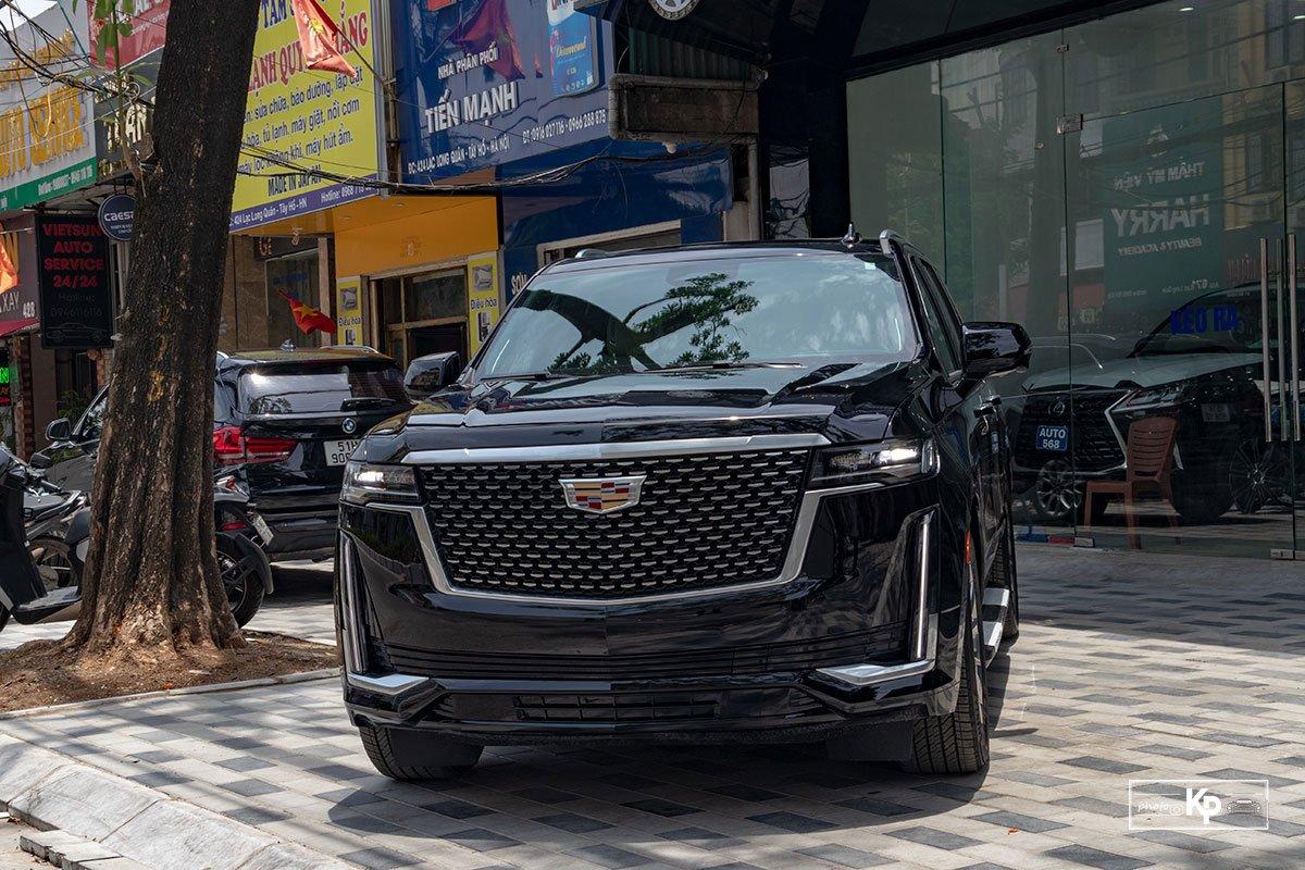 Ngắm Cadillac Escalade ESV 2021 bản máy to và nội thất nhiều điểm mới so với xe đã về Việt Nam trước đó  a8