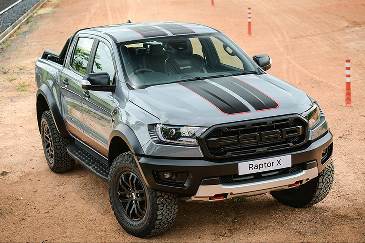 Ford Ranger Raptor X 2021 ra mắt Thái Lan.