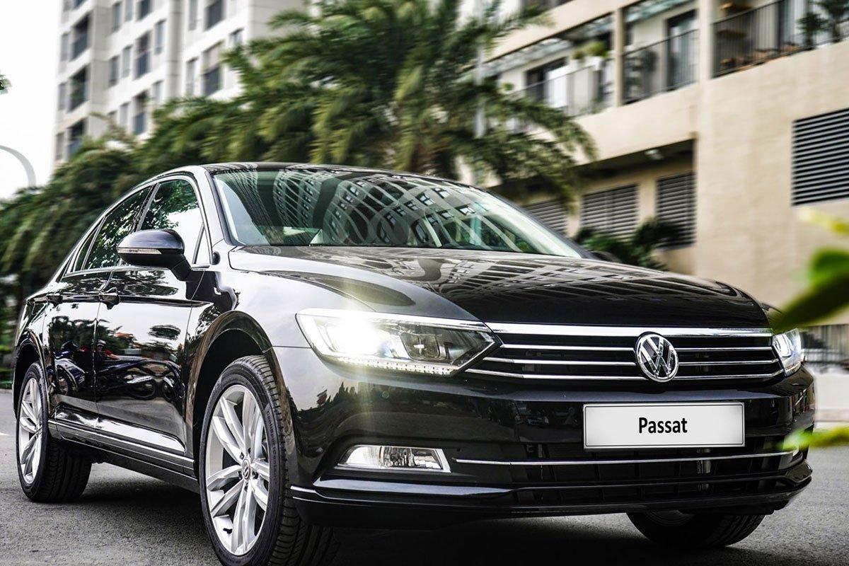 đầu xe Volkswagen Passat