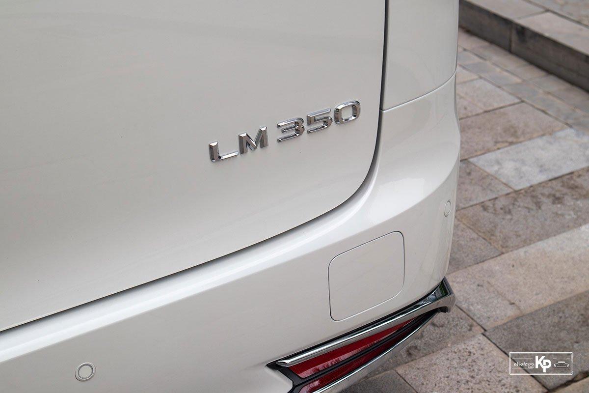 Ảnh Tên xe Lexus LM 350 2021
