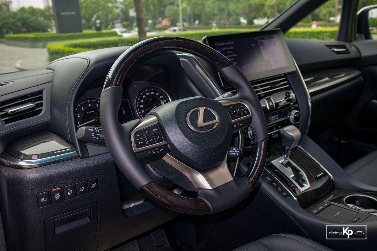 Ảnh Vô-lăng xe Lexus LM 350 2021