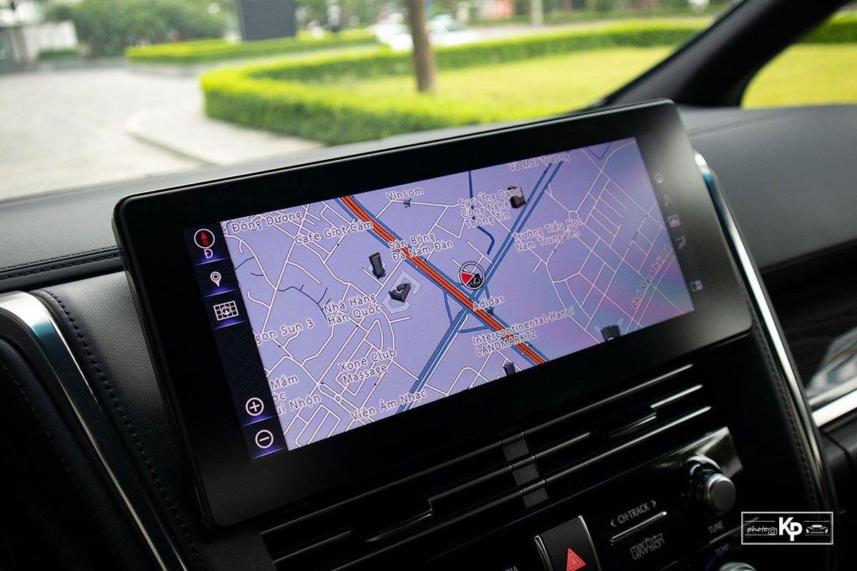 Ảnh Màn hình xe Lexus LM 350 2021