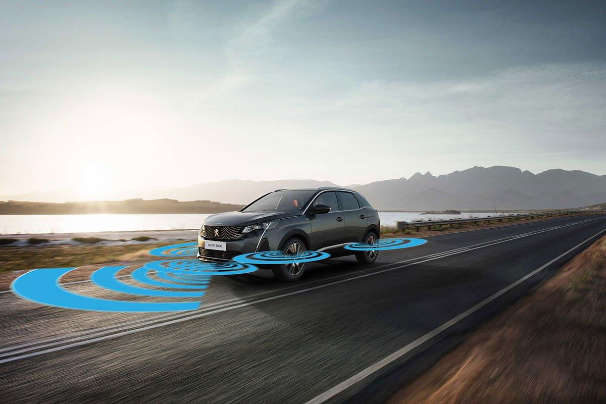 Các công nghệ an toàn trên Peugeot 3008 mới.