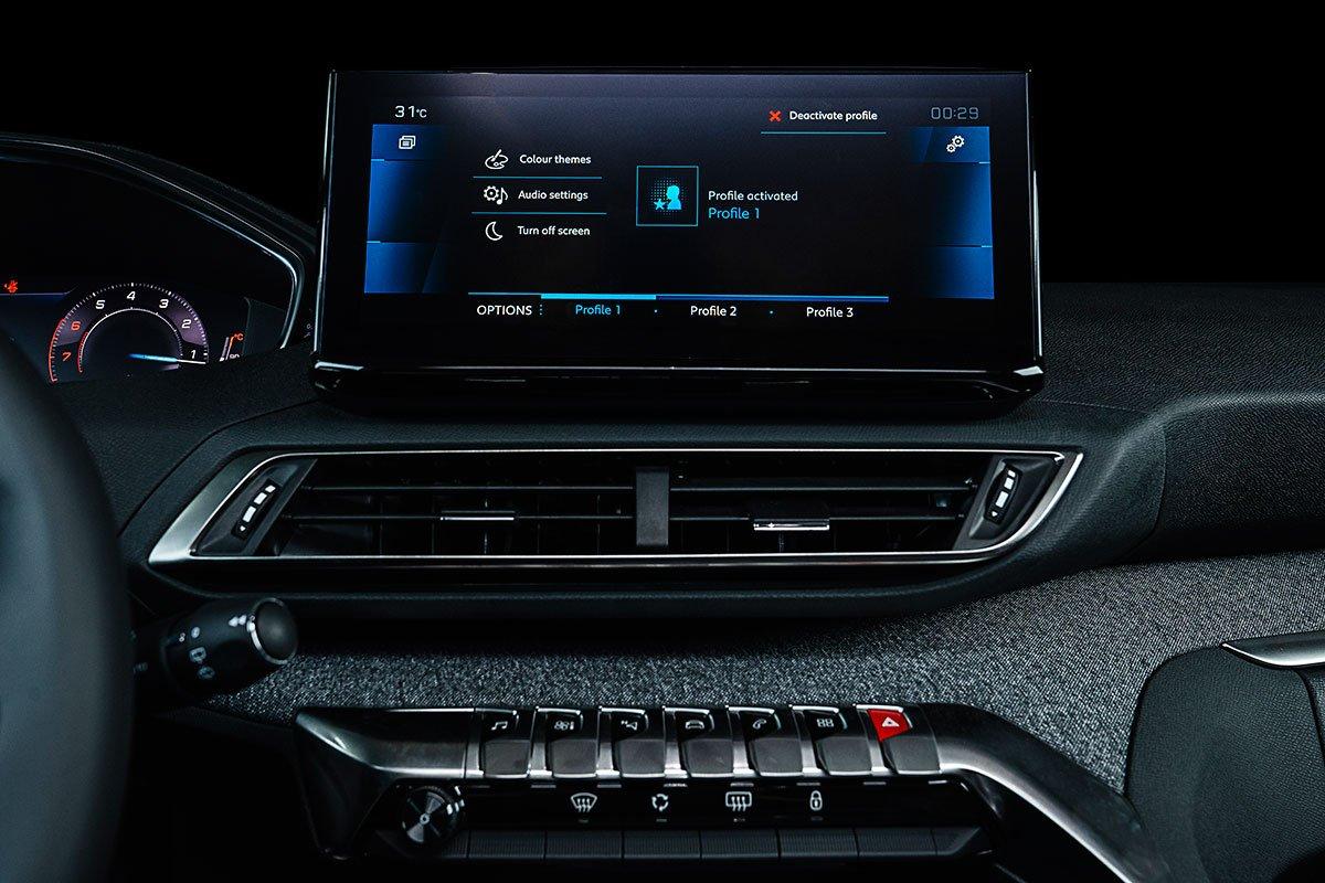 nội thất xe Peugeot 3008 2021 mới nhất 1.