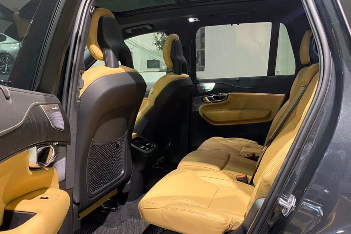 ghế sau xe Volvo XC90 2021