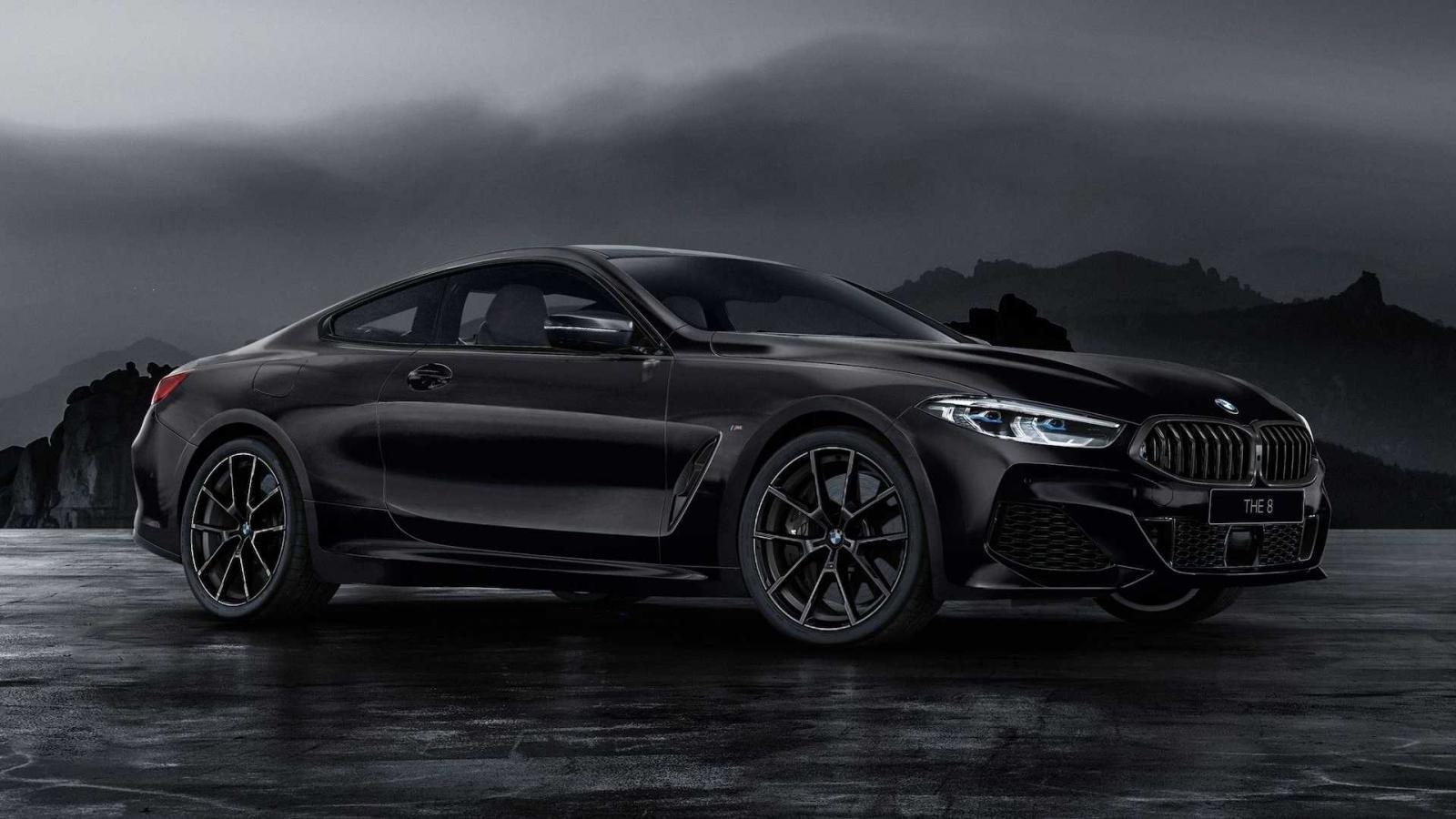 BMW 8-Series Frozen Black Edition trình làng.