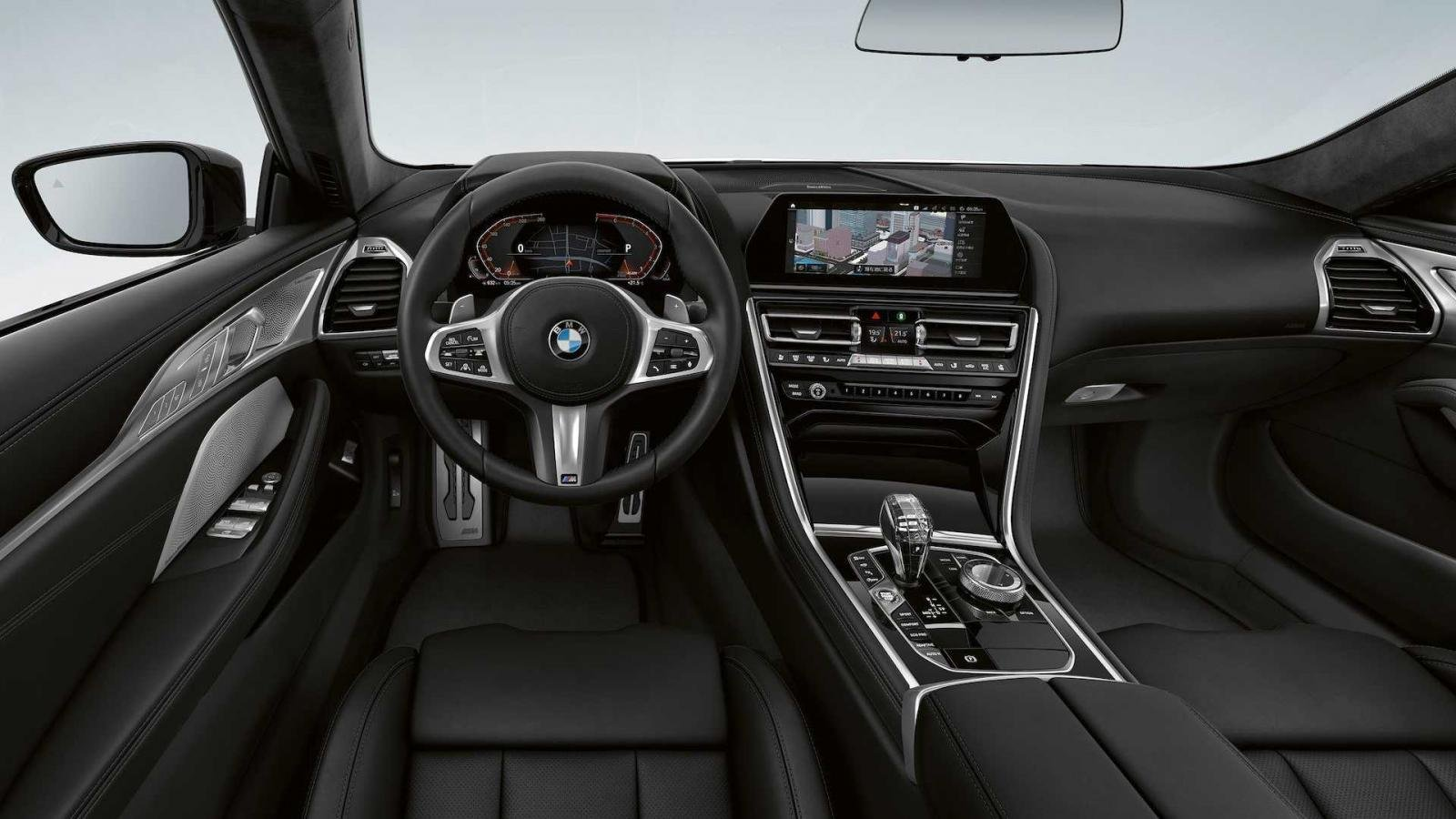 BMW 8-Series Frozen Black Edition hấp dẫn từ ngoài vào trong.