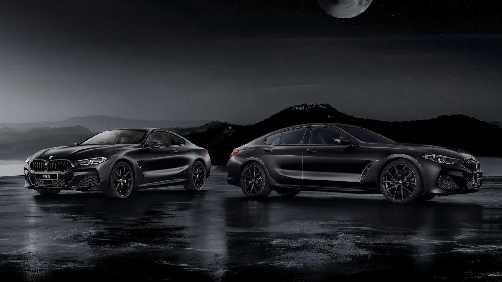 BMW 8-Series Frozen Black Edition được cung cấp dưới dạng 2 cấu hình.