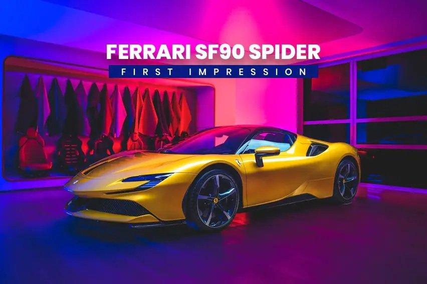 Siêu phẩm mui trần Ferrari SF90 Spider chào giá 11,7 tỷ đồng.