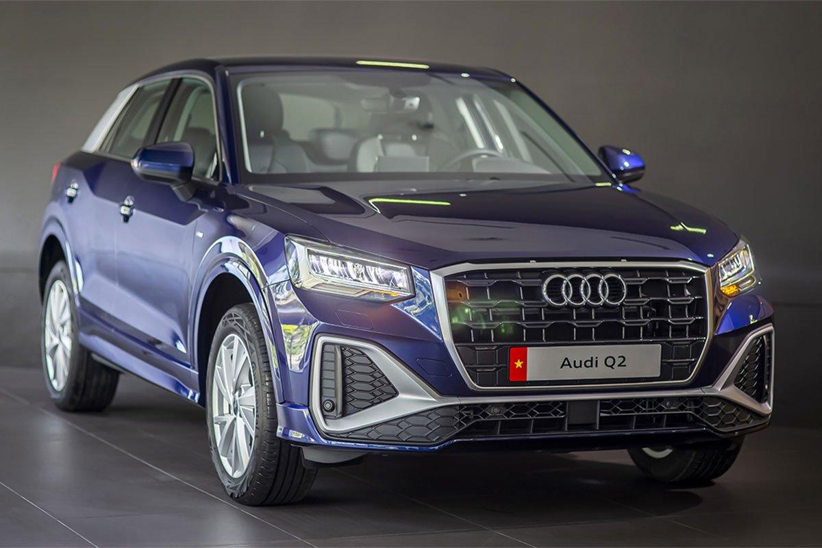 Audi Q2 2021 bán ra tại Việt Nam với bản tiêu chuẩn và bản S line.