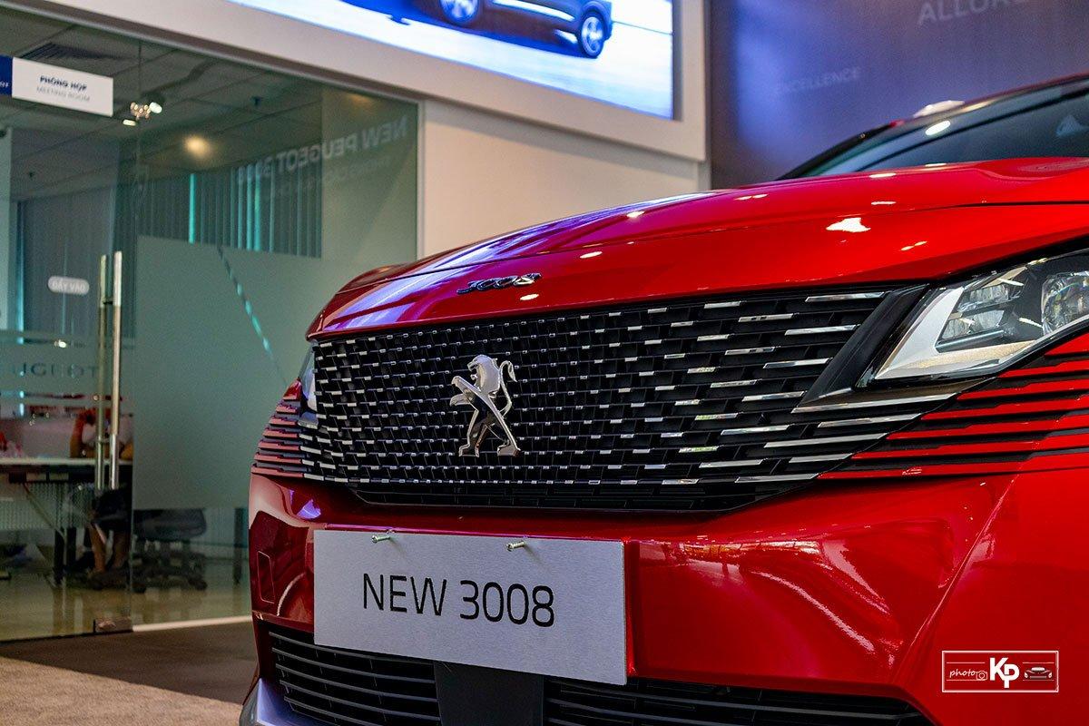 Ảnh Lưới tản nhiệt xe Peugeot 3008 2021