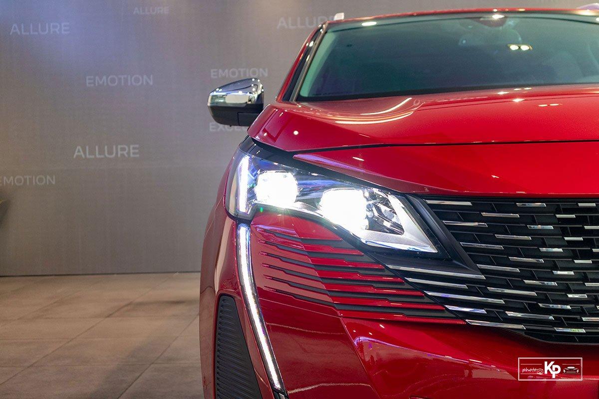 Ảnh Đèn pha xe Peugeot 3008 2021