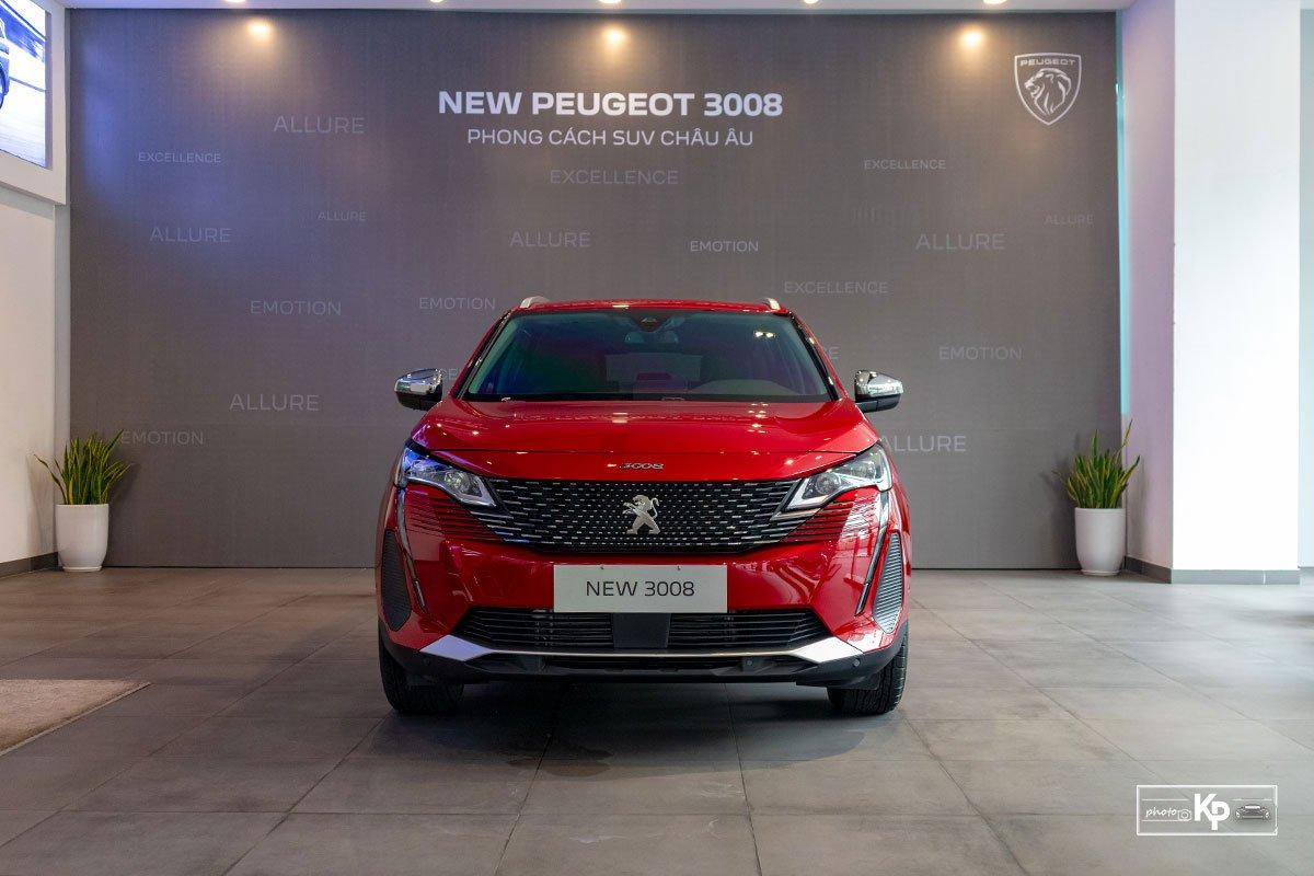 Ảnh Đầu xe Peugeot 3008 2021