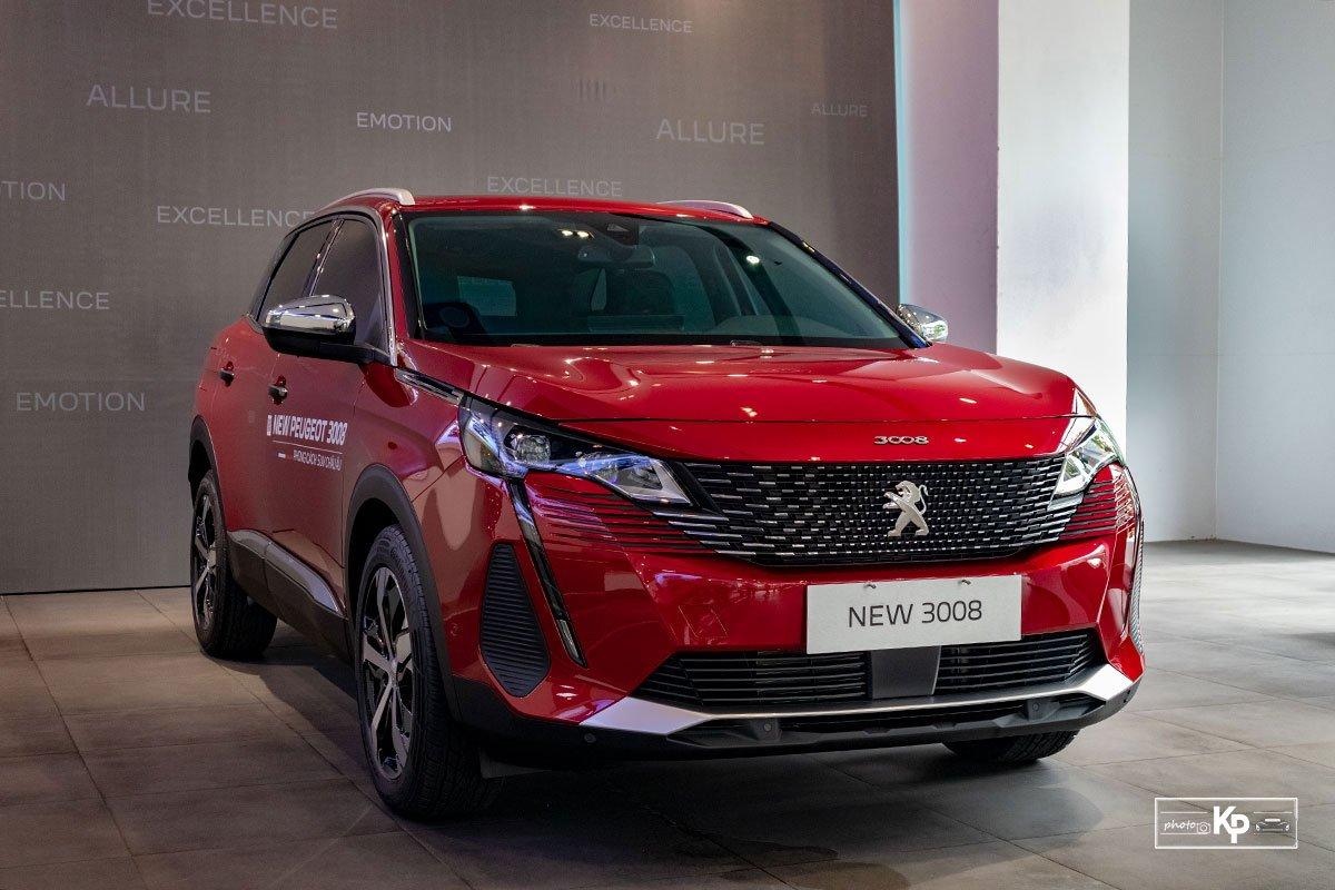 Ảnh Tổng quát xe Peugeot 3008 2021