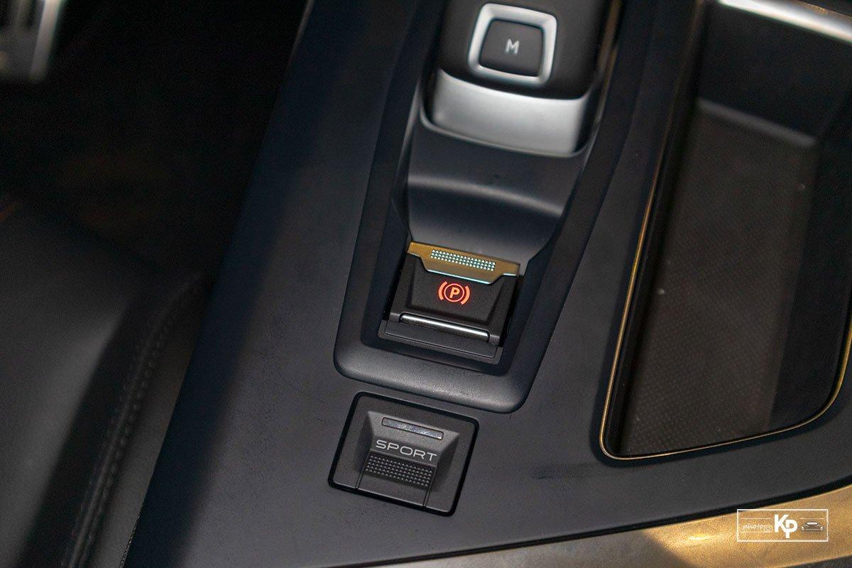 Ảnh Phanh tay xe Peugeot 3008 2021