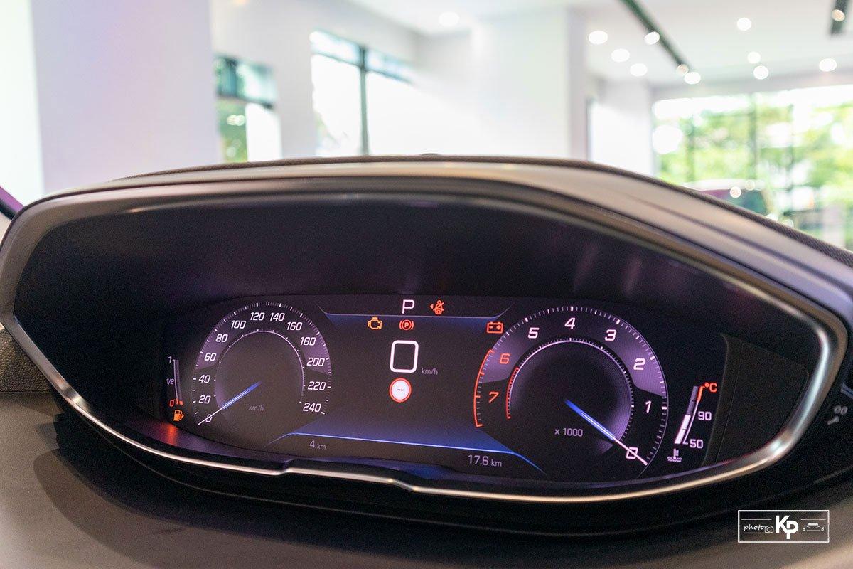 Ảnh Màn hình lái xe Peugeot 3008 2021