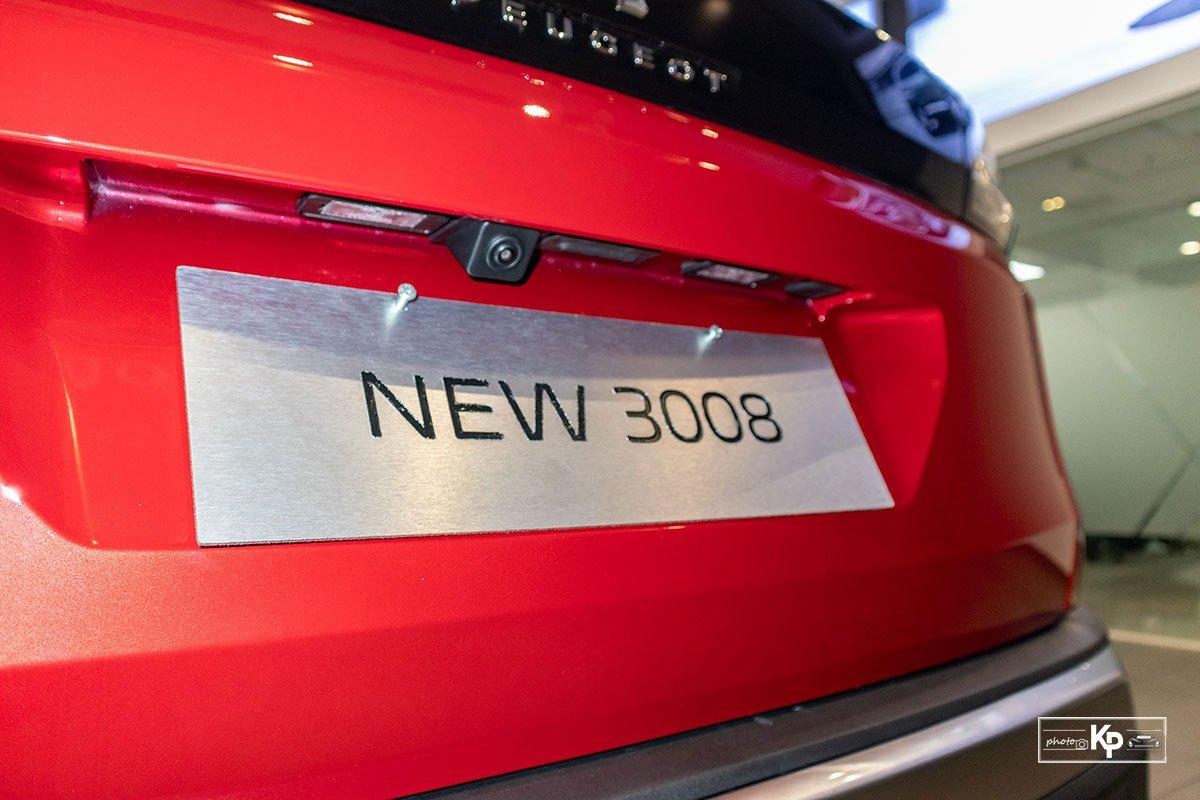 Ảnh Camera lùi xe Peugeot 3008 2021