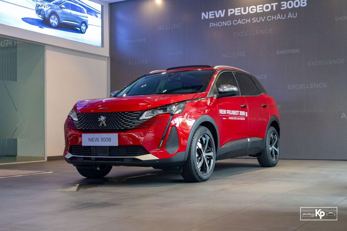 Ảnh Giới thiệu xe Peugeot 3008 2021