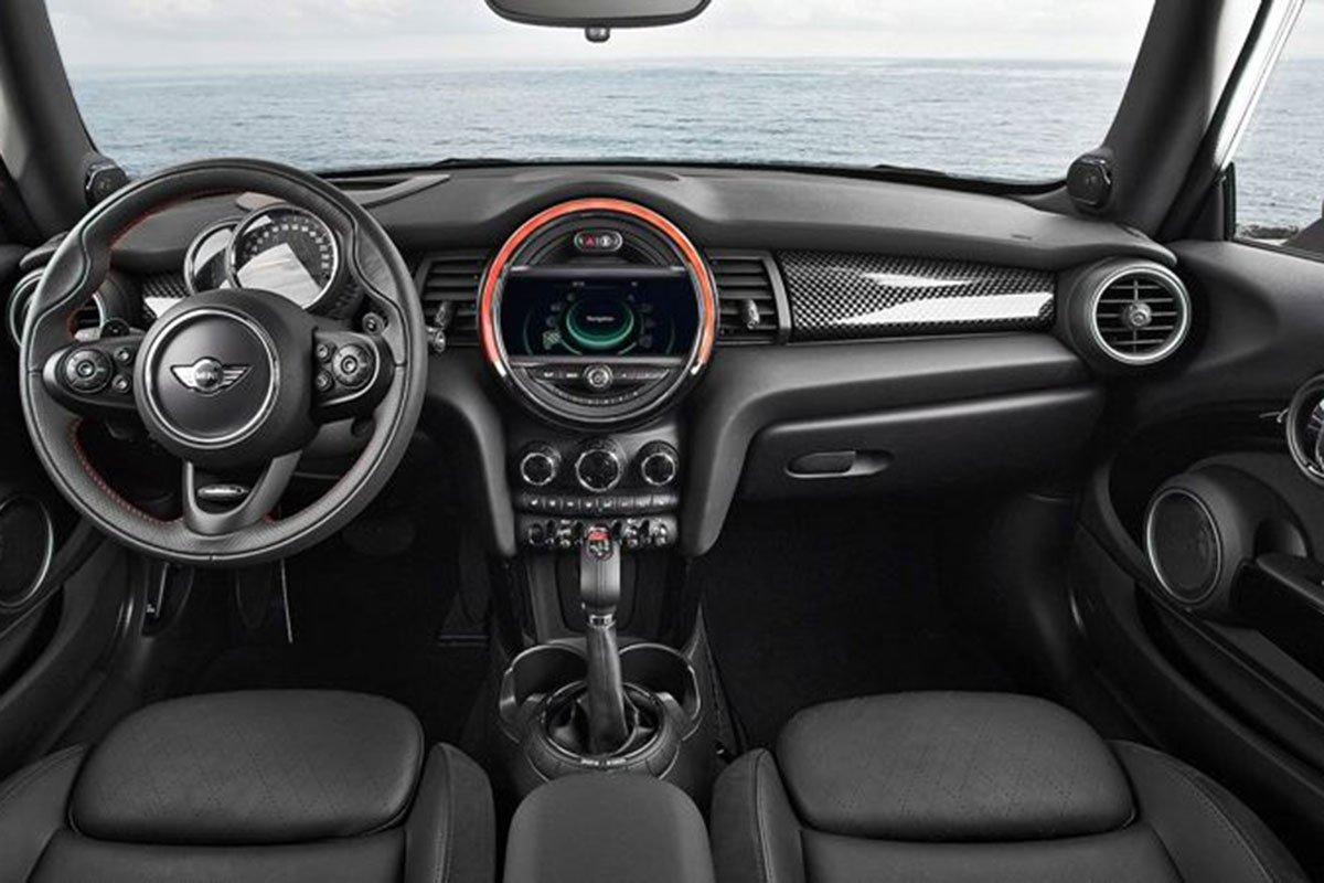 nội thất xe MINI Cooper 3 cửa 2021