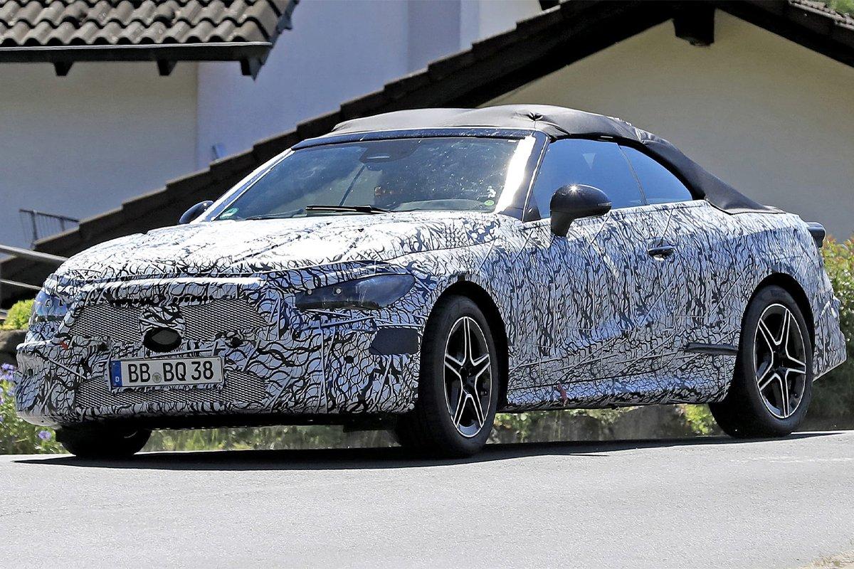 Mercedes-Benz CLE 2023 trên đường thử.