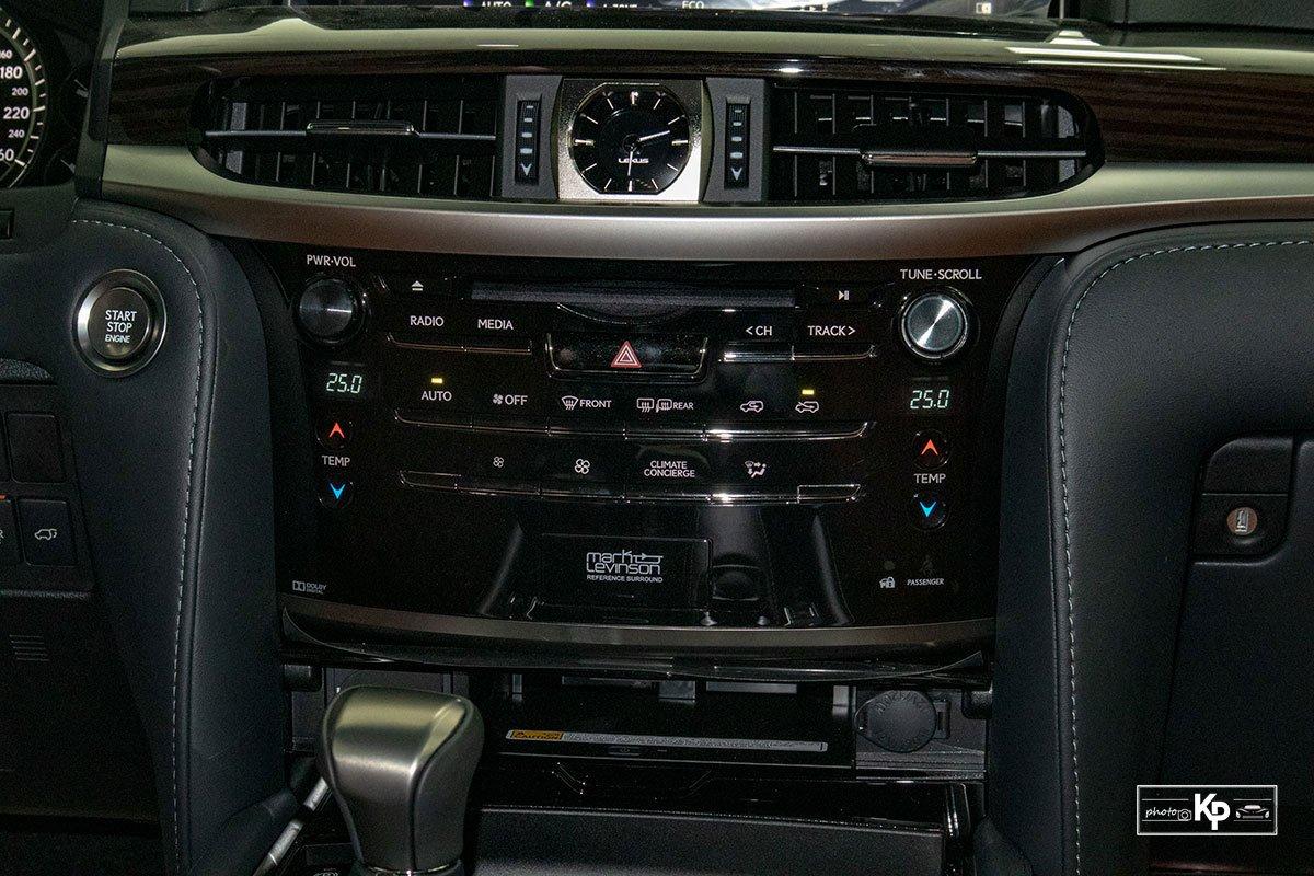 Ảnh Điều hòa xe Lexus LX570 Super Sport 2021