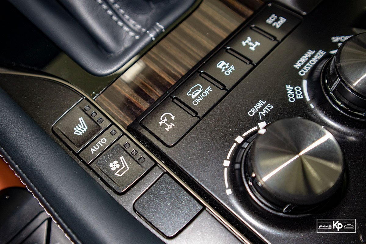 Ảnh Nút bấm chế độ xe Lexus LX570 Super Sport 2021