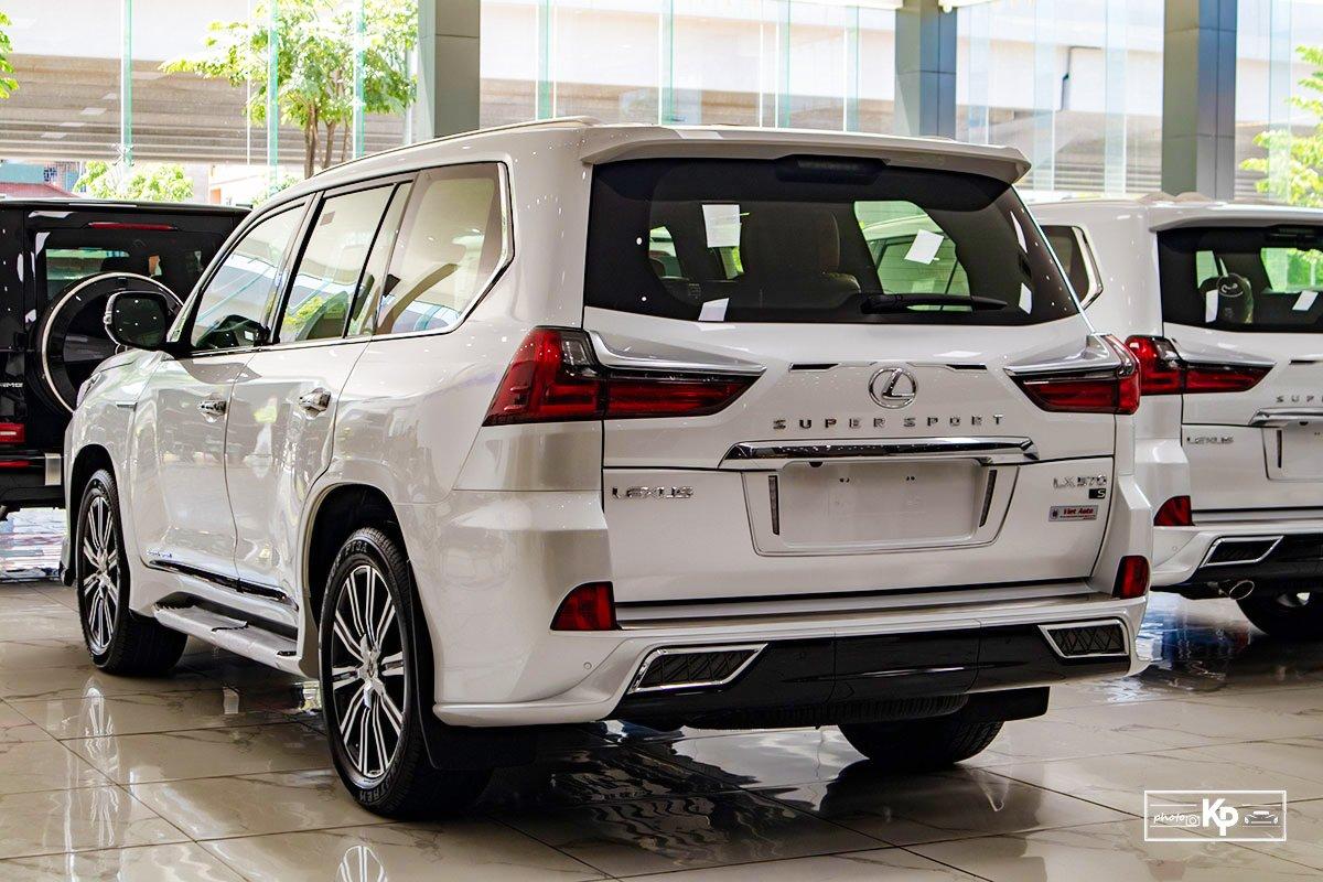 Ảnh Tổng quát xe Lexus LX570 Super Sport 2021