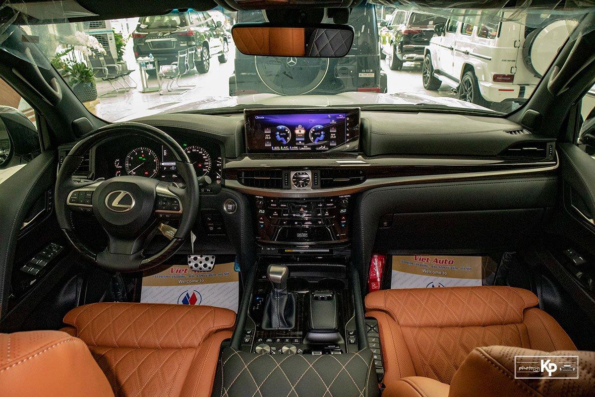 Ảnh Nội thất xe Lexus LX570 Super Sport 2021