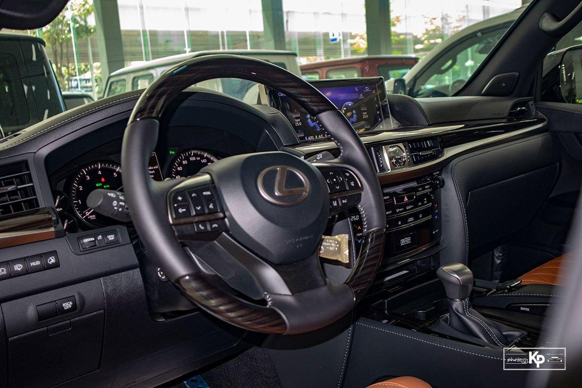 Ảnh Vô-lăng xe Lexus LX570 Super Sport 2021