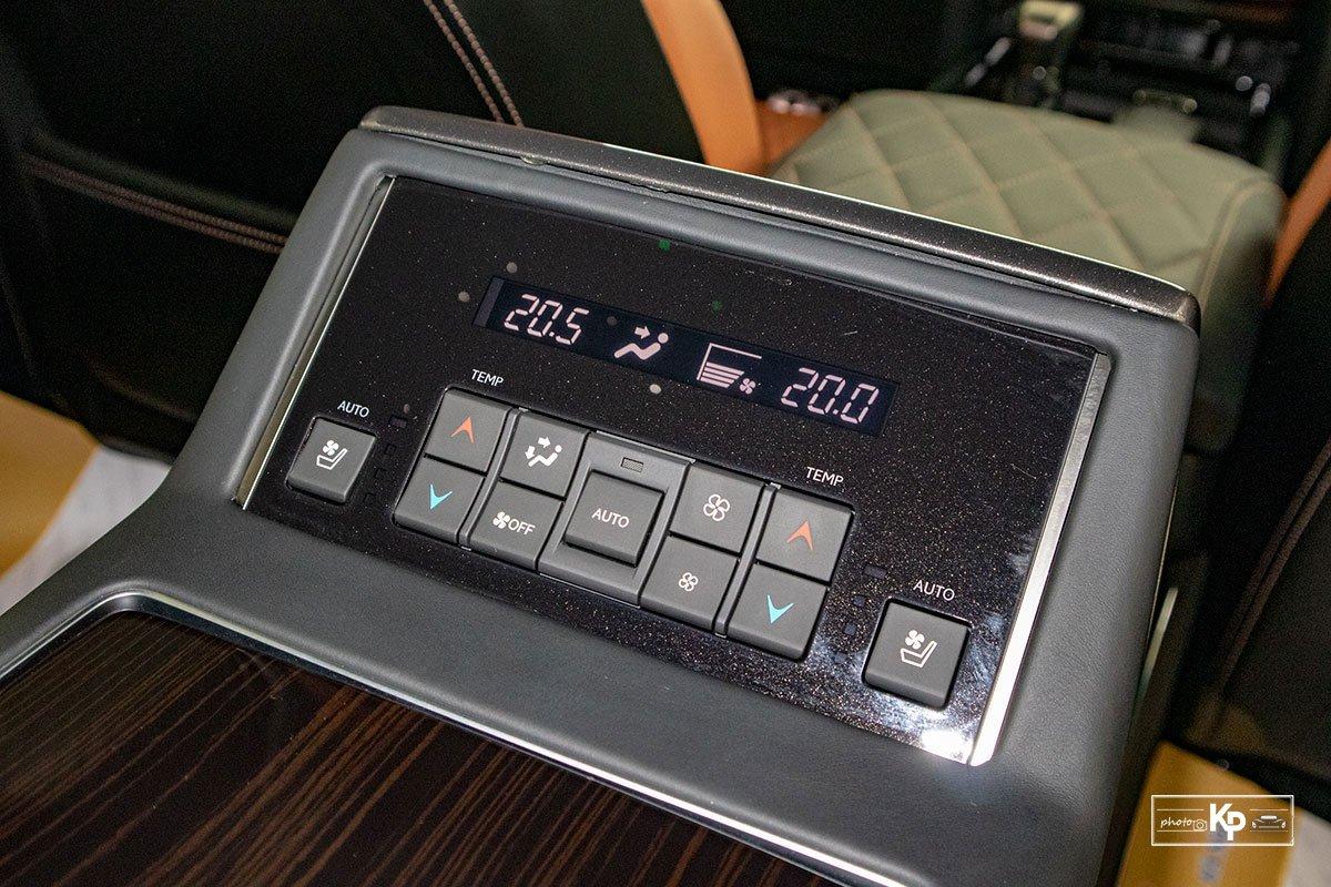 Ảnh Chỉnh điều hòa xe Lexus LX570 Super Sport 2021
