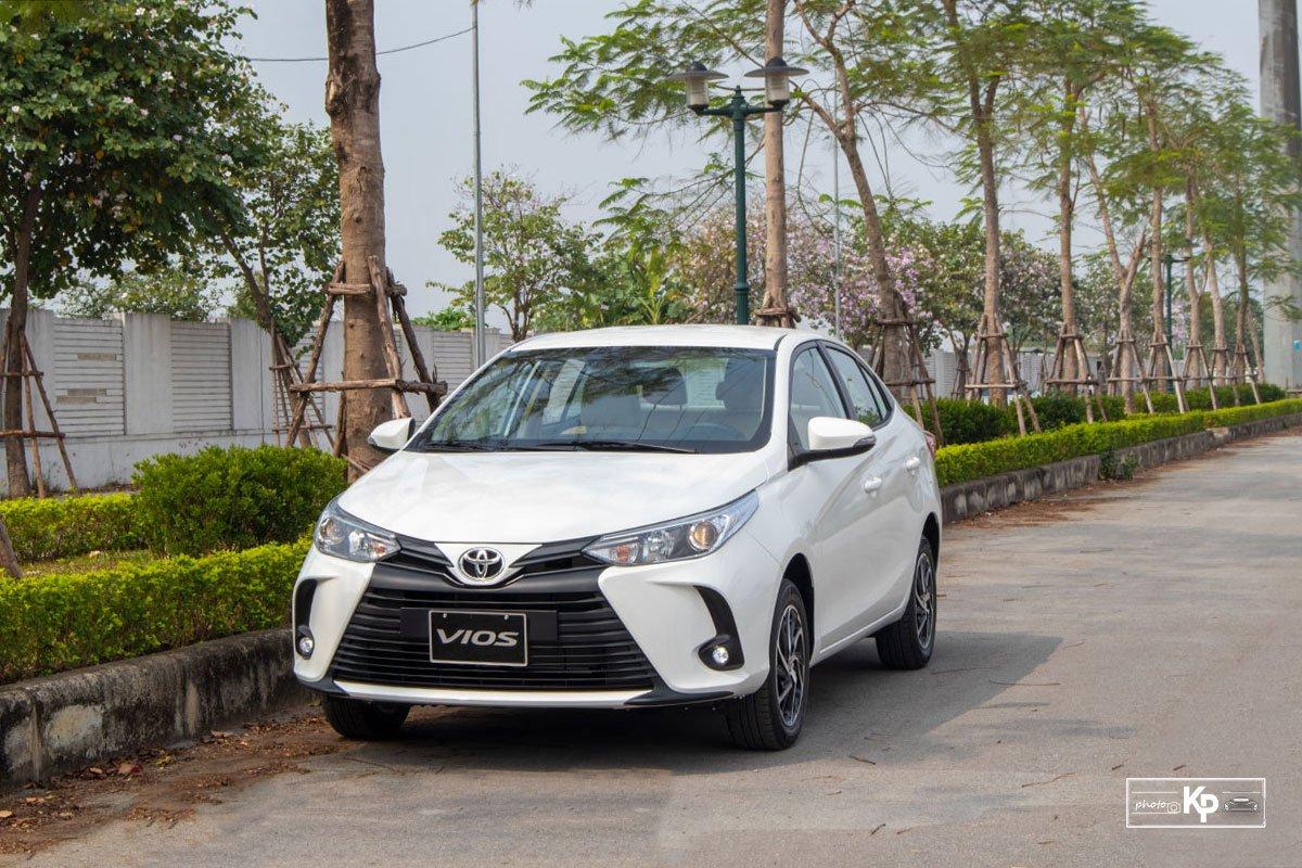 Khuyến mãi Toyota Vios tháng 7 2021.