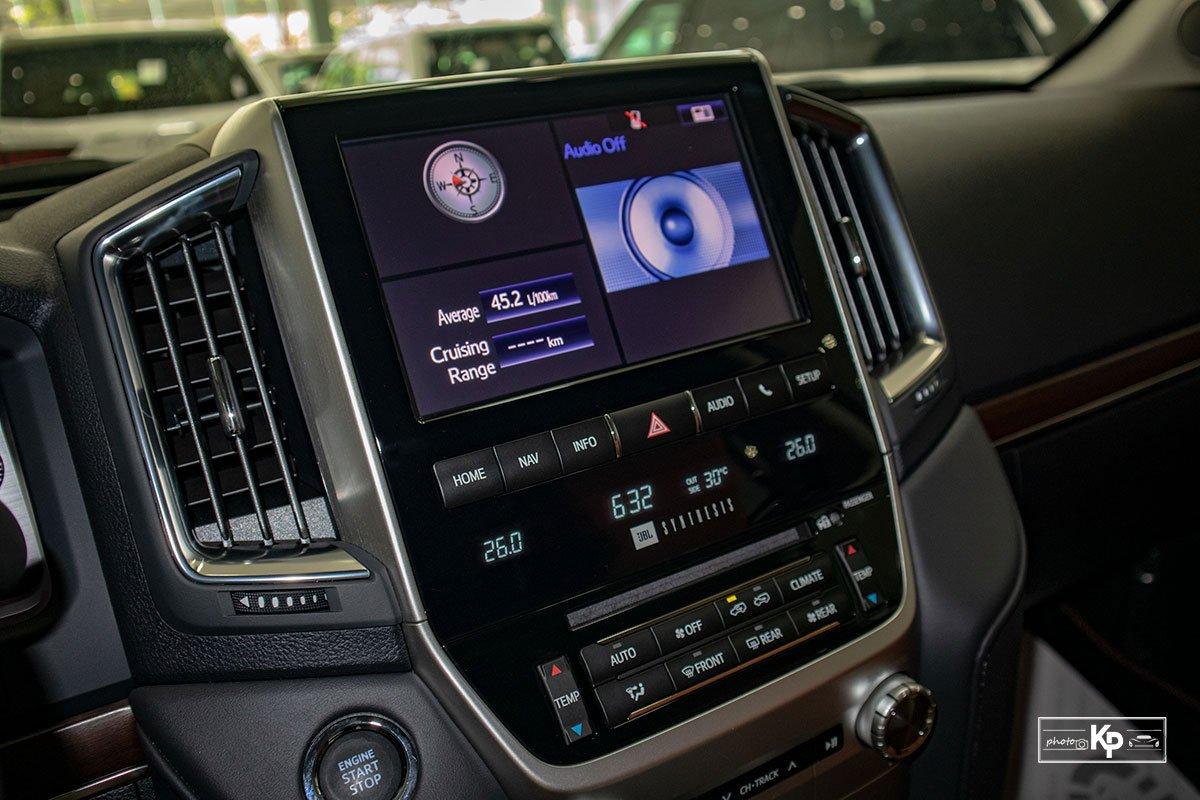 Ảnh Màn hình xe Toyota Land Cruiser 2021