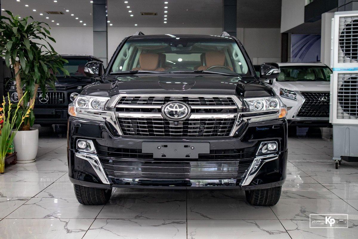 Ảnh Đầu xe Toyota Land Cruiser 2021