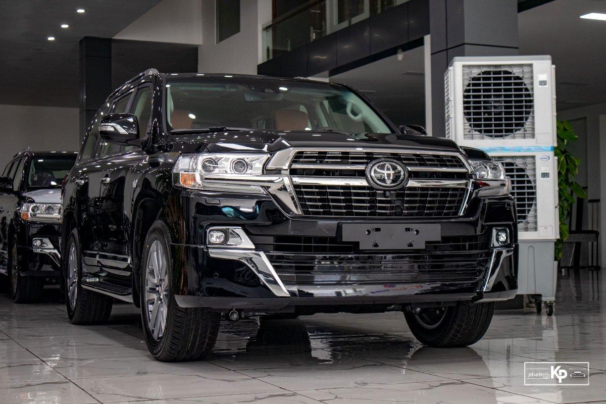 Ảnh giới thiệu xe Toyota Land Cruiser 2021