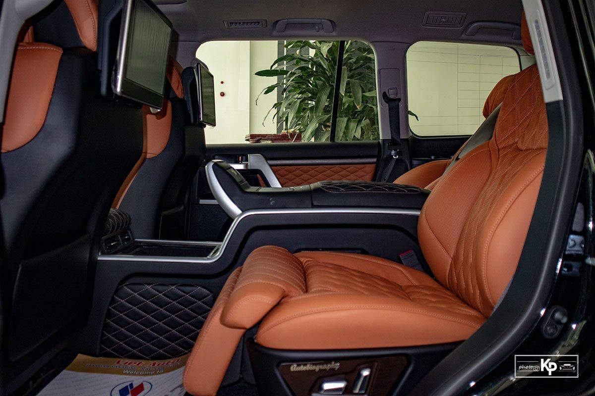 Ảnh Ghế sau xe Toyota Land Cruiser 2021