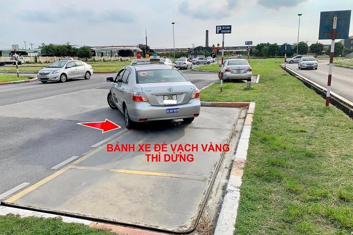 Ghép xe ngang.