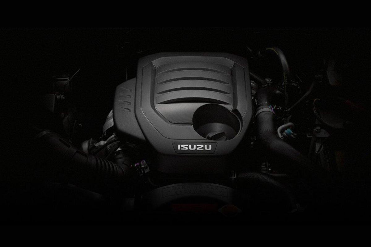 Động cơ của Isuzu mu-X 2021.
