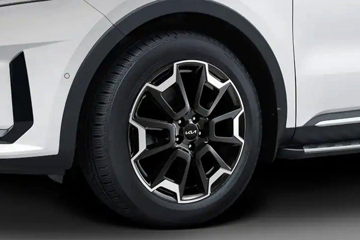 Kia Sorento 2022 nâng cấp mâm xe họa tiết mới