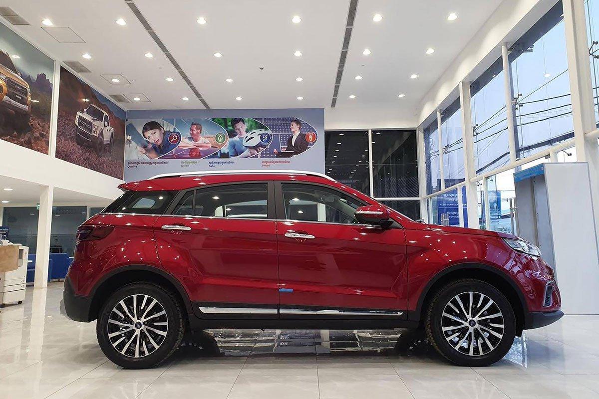 Ảnh thực tế Ford Territory 2021 tại đại lý, gây áp lực lên Honda CR-V và Mazda CX-5 a8