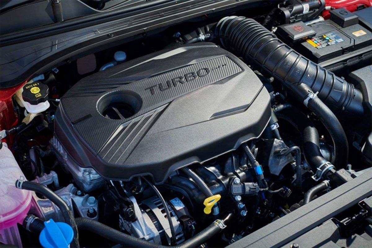 Kia Cerato 2021 facelift vẫn được trang bị động cơ Smartstream I4 1.6L.