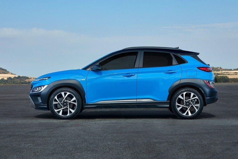 Hyundai Kona không có nhiều thay đổi về ngoại hình 1