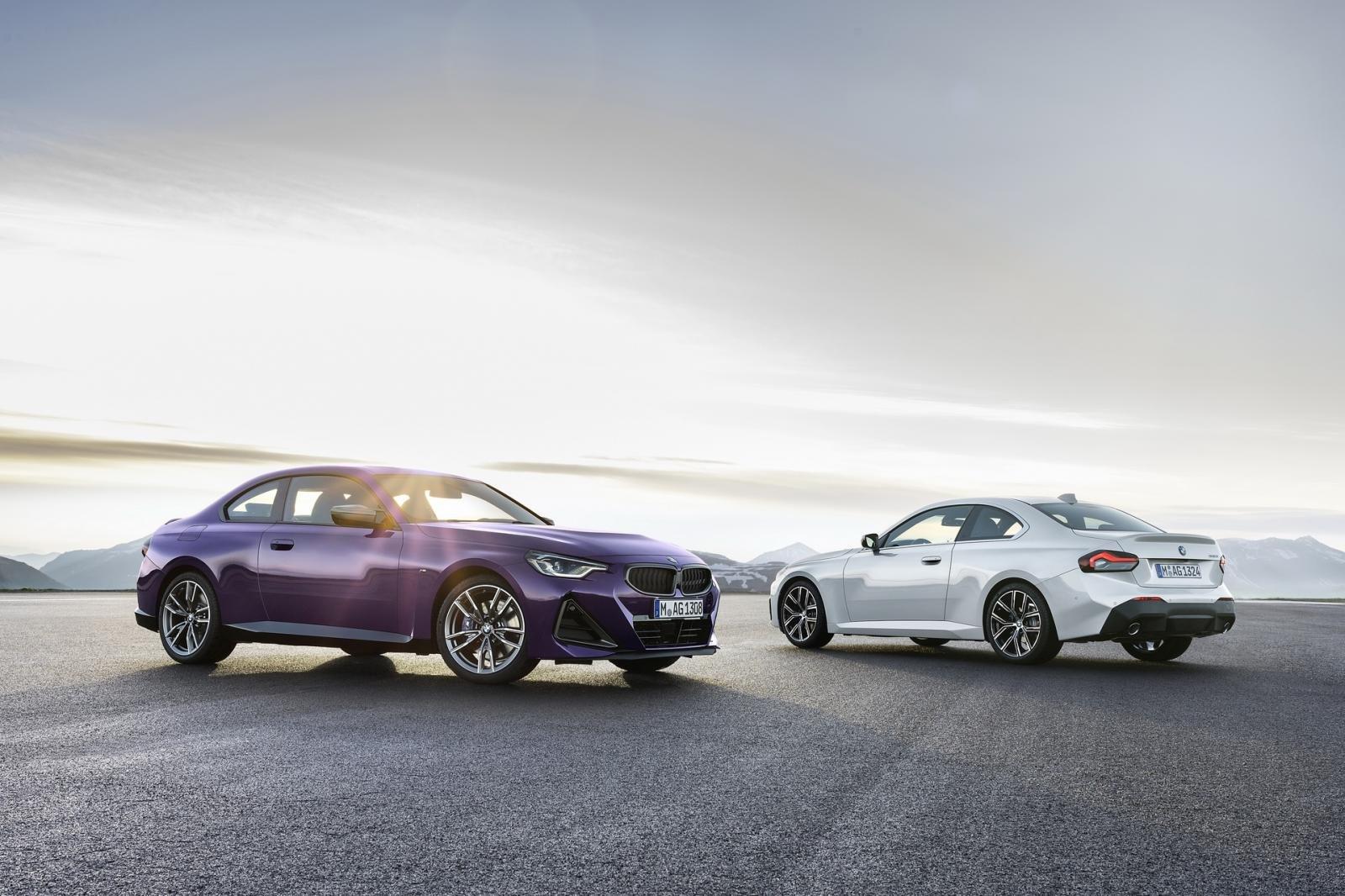 BMW 2-Series Coupe 2022 sở hữu nhiều biến thể và tùy chọn hấp dẫn.