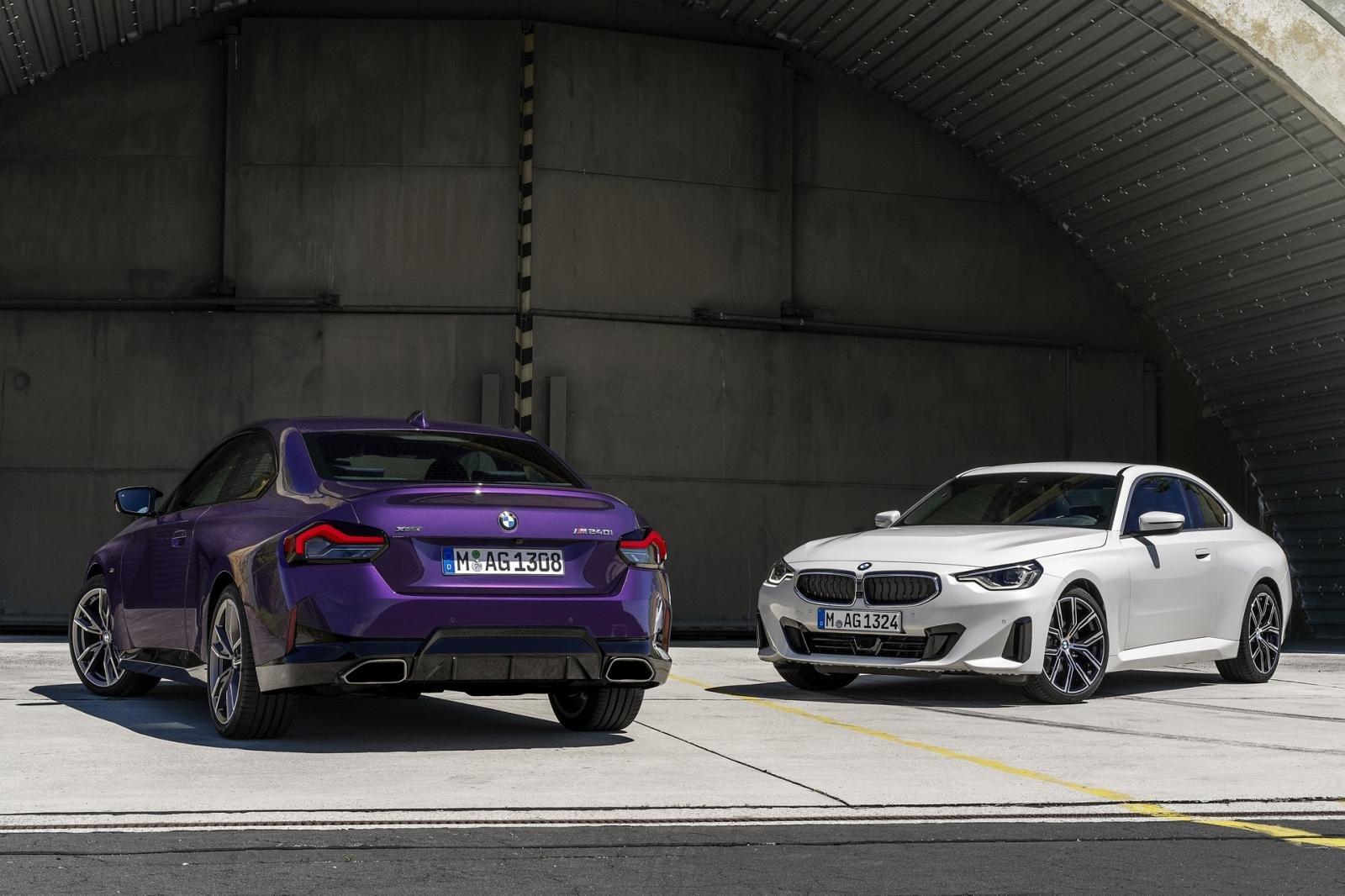 BMW 2-Series Coupe 2022 hẹn đến tay người dùng trong thời gian tới.