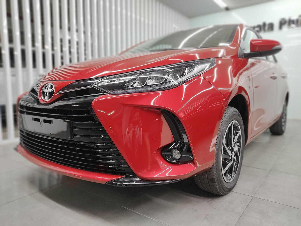 Phiên bản xe Toyota Vios 1.5E CVT.