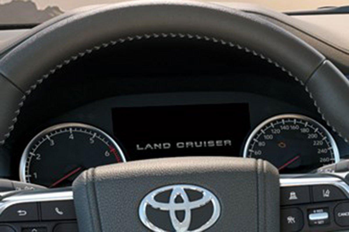 vô-lăng xe ToyotaLand Cruiser 2022 .